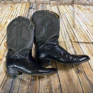 Vintage Wrangler Western Cowboy Boots Size 10
